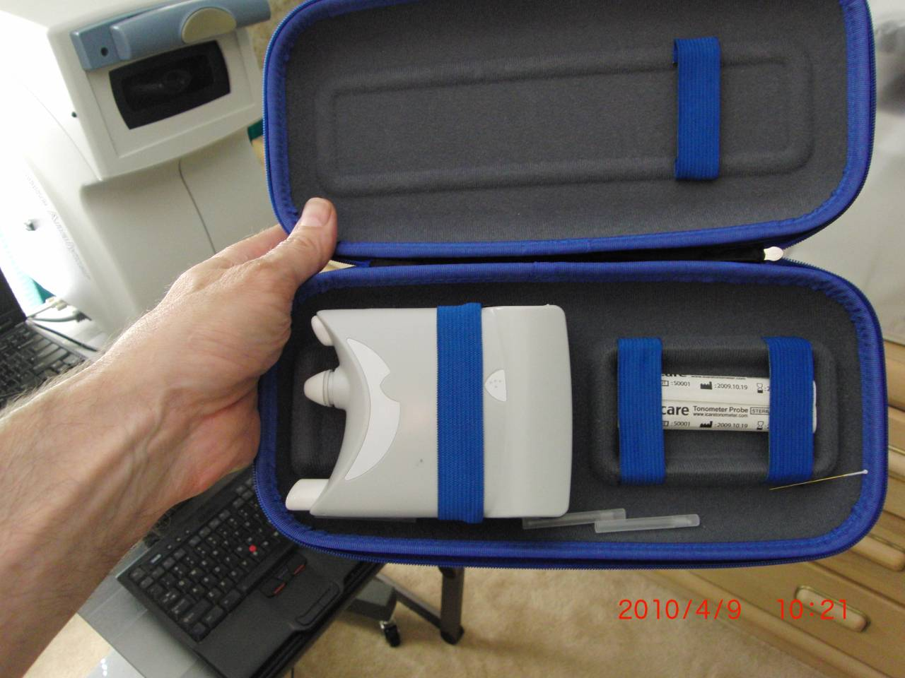 Icare ONE tonometer carry case