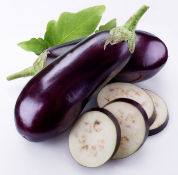 eggplant reduces eye pressure (intraocular pressure)
